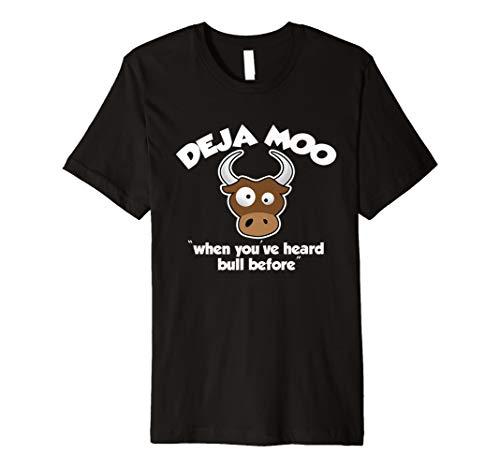 Deja Moo Funny Cow T-Shirt