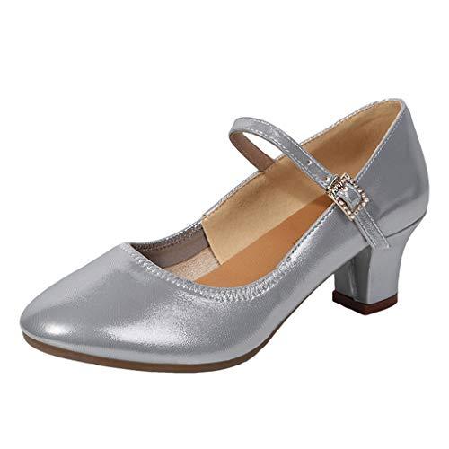 Fascino-M Calzatura Donna Scarpe da Ballo Latino Salsa Moderna Tango Valzer Scarpe da Ballo da Sala