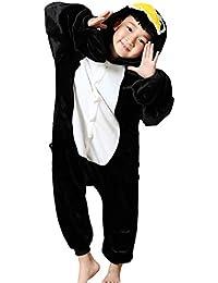 Minetom Unisexo Adulto Anime Unicornio Kigurumi Pijamas Traje Disfraz de Halloween Niños Animal Ropa de Dormir Carnaval Cosplay
