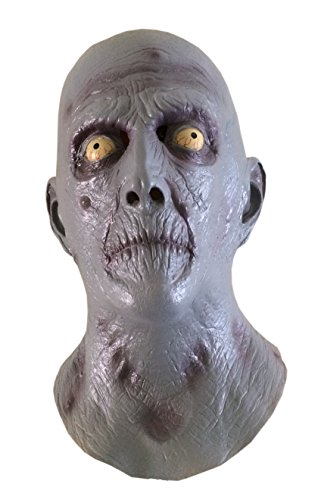 en Horror Old Man Maske Scary Zombie Latex maske (Halloween Scary Horror Masken)