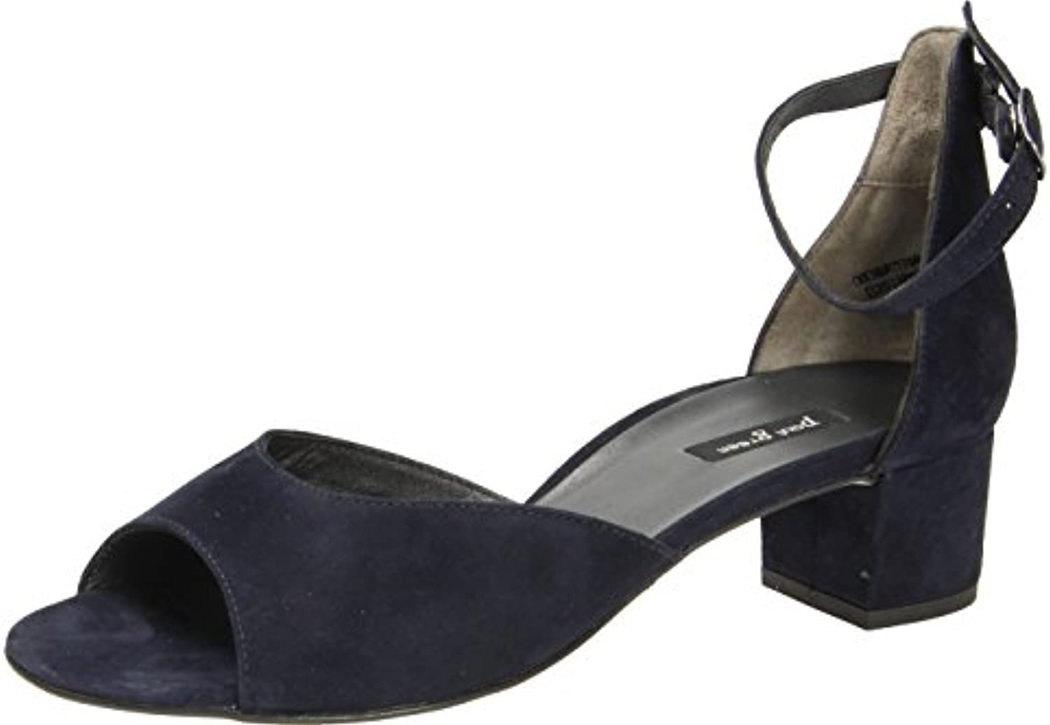 Paul Green Damen Sandaletten 6039 6039-009 Blau 285356