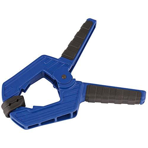 Draper D209 Expert Capacité Soft Grip Pince de serrage, Bleu, 70 mm