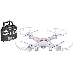 Velleman RCQC1 dron con cámara - drones con cámara (Color blanco, De plástico, Ión de litio, AA, USB)