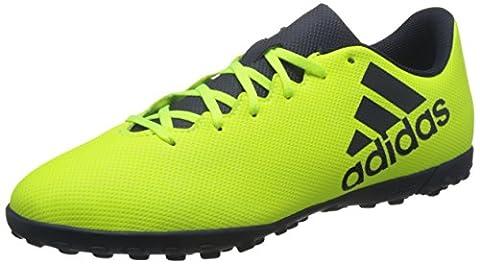 adidas X 17.4 Tf, Chaussures de Football Homme, Jaune (Solar Yellow/Legend Ink/Legend Ink), 42 EU