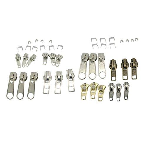 Sharplace 44stk Reißverschluss Ersatz Reißverschluss Reparatur Set -