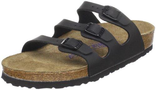Birkenstock Damen Florida Soft Footbed Sandal,schwarz Birko-Flor,42 EU/11 B(M) US Women/9 D(M) US Men (Florida Footbed Soft)