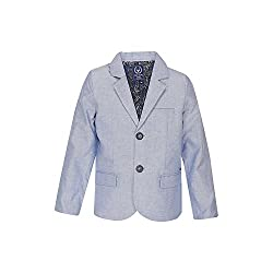 Allen Solly Junior Boys Blazer (AKBBZ318965_Blue_6)