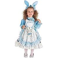 COSTUME di CARNEVALE da PICCOLA ALICE NEL PAESE DELLE FAVOLE vestito per  neonata bambina 0- 3b4eb78b46d