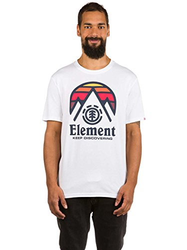 Element Cliff T-Shirt Weiß