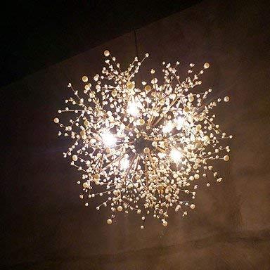 Moderne Kronleuchter Deckenleuchten Anhänger Zeitgenössische Moderne Kronleuchter Feuerwerk Led Vintage Schmiedeeisen mit 8 Lichter Kronleuchter Insel Hängende Beleuchtung Wohnzimmer Schlafzimmer ESS -