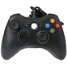 QUMOX USB Mando Controlador Cableado de Gamepad Joystick Joypad se asemeja a XBox360 para PC
