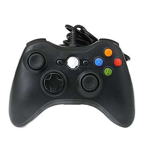 QUMOX Wired verdrahtet Resembles ähneln USB Gamepad Controller Joystick Joypad für PC Windows 7 (360 Wired Controller)