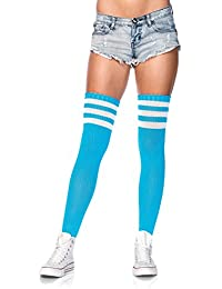 Leg Avenue One Size Grün/Weiß Bier Zeit Athletic Socken