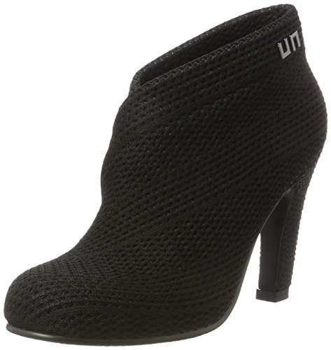 United Nude Damen Fold Hi Pumps Schwarz (Black)
