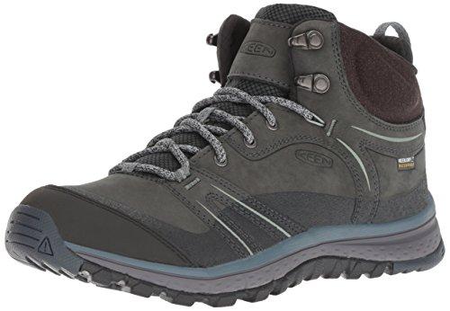 KEEN Damen Leichtwanderschuhe Terradora Leather MID WP W-Terragon ash (227) 41EU