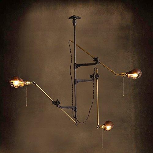 KHSKX Lampada da soffitto,American paese europeo di rame retrò artigli progettato lampada da soffitto 1400*878mm