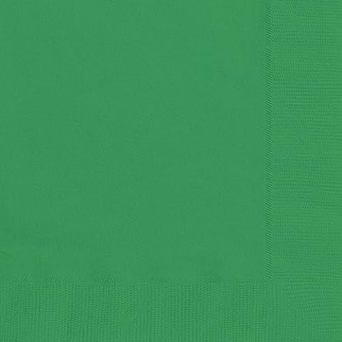 Papierservietten, 16,5 cm, smaragdgrün, 20er-Packung