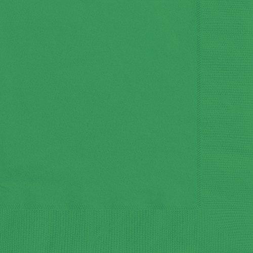 Unique Party Supplies Papierservietten, 16,5 cm, smaragdgrün, 20er-Packung