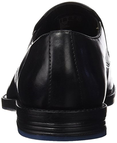 Clarks Prangley Step, Mocassins Homme Noir (Black Leather)