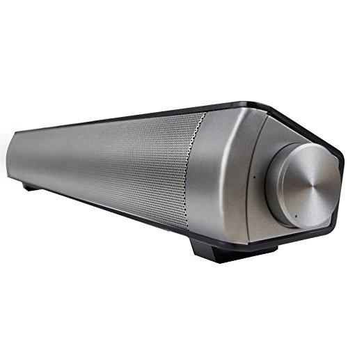 LP-08 Barra de Sonido para TV, Bluetooth inalámbrico Pared de Eco Altavoz...