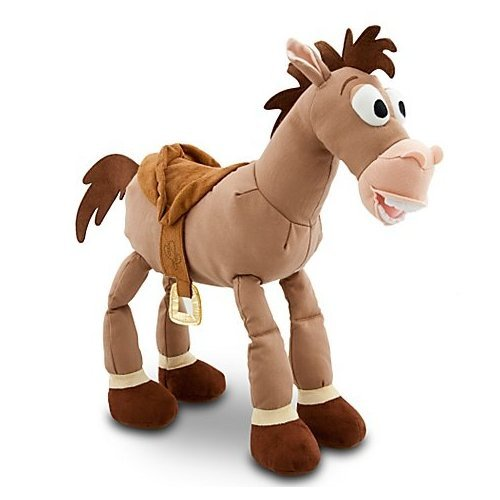 arge 43cm Tall plush bullseye soft toy doll ()