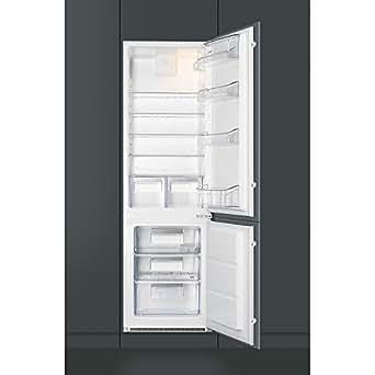 Smeg C7280FP Intégré 277L A+ réfrigérateur-congélateur - réfrigérateurs-congélateurs (Intégré, Droite, 277 L, 280 L, SN-T, 36 dB)