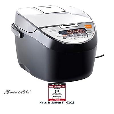 Rosenstein Shne Multicooker 15in1 Multifunktions Kocher In Matt Gebrstetem Edelstahl 5 L 700 W Slow Cooker