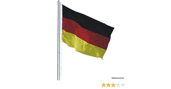 Teleskop fahnenmast m inkl deutschlandflagge fahnenstange