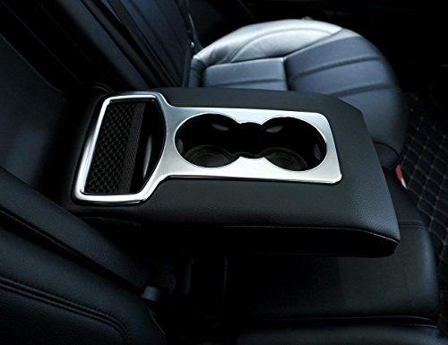 car-styling ABS Chrom Innen Zubehör hinten Zeile Cup Holder Cover Dekoration Frame Trim Zubehör für Sport RR SPORT 2014–2017