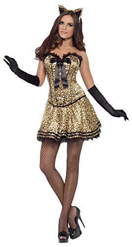 SMIFFYS - Costume Carnevale Halloween animale Gatta Sexy donna