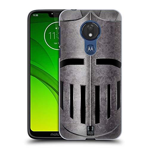 Head Case Designs Helm Mittelalterliche Rüstung Harte Rueckseiten Huelle kompatibel mit Motorola Moto G7 Power
