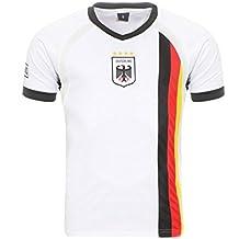 Matyfashion - Collection Herren/Damen Deutschland Fußballtrikot WM Fanshirt T-Shirt Nationalmannschaft in Farbe Weiß 5