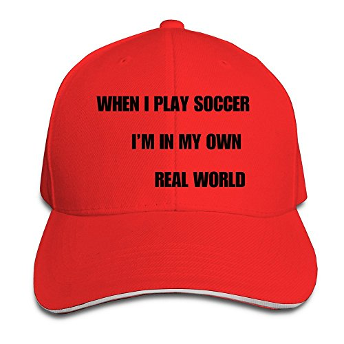 cool-xj-im-in-my-own-world-calcio-cappellino-trucker-cappello-con-visiera-per-sandwich-colore-rosso-