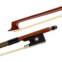 Kmise Nuez de ébano violín–Arco para violín (4/4piezas Pack de 1, Red 2