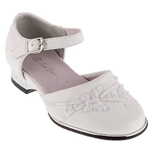 Festlicher Mädchen und Damen Schuh #425 weiss