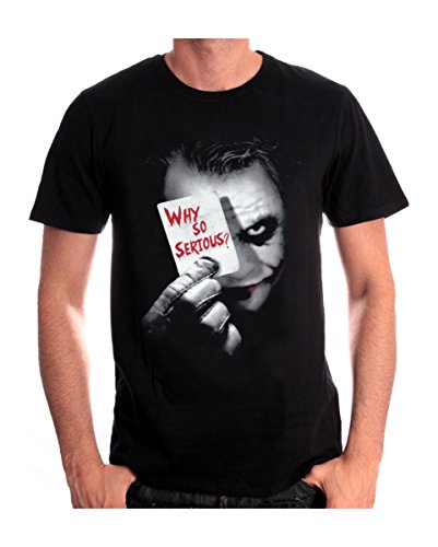 ght T-Shirt Joker Why so Serious? S (Dark Knight Offizielle Kostüme)