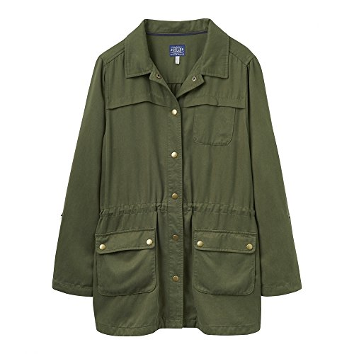 Joules Cassidy Safari Damen Jacke (y) UK20 EU48 US16 Soft Khaki (Safari-jacke-khaki)
