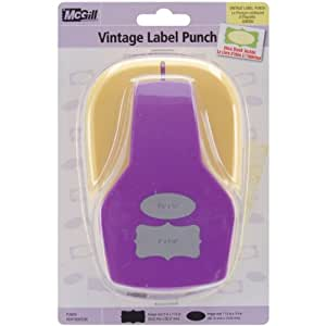 2 Designs -Vintage Label Punch: Amazon.co.uk: Kitchen & Home