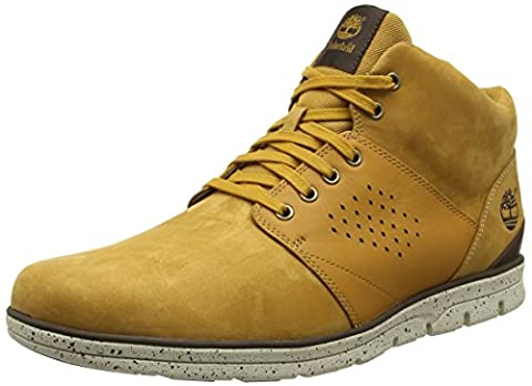 Timberland Bradstreet Half Cab, Bottes Classiques homme - Beige - Beige (Wheat), 43