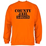 Old Glory Halloween County Jail Häftling Kostüm Herren Sweatshirt