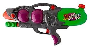 Idena 40300-Pistola de Agua con función Pump, Gris, Aprox. 46cm