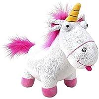 Felpa Mullido Fluffy Unicornio Glitter y Gran versión de 30 cm - Original Plush Despicable Me