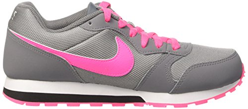 Nike Mädchen Md Runner 2 Gs Sneakers, Grau Gris (Cool Grey/Hyper Pink-Black)