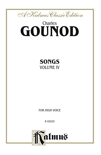Songs, Volume IV: For High Voice