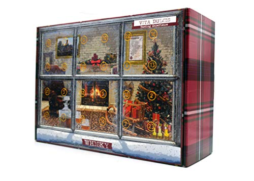 Vita Dulcis Whisky Adventskalender Edit.Premium Scotch 2018-24x0,02l