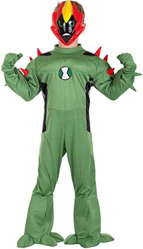 COSTUME di CARNEVALE da ALIENO vestito per ragazzo bambino 7-10 Anni travestimento veneziano halloween cosplay festa party 5030 Taglia 8/M