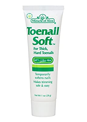 Miracle Of Aloe Toenail Soft 1 Oz