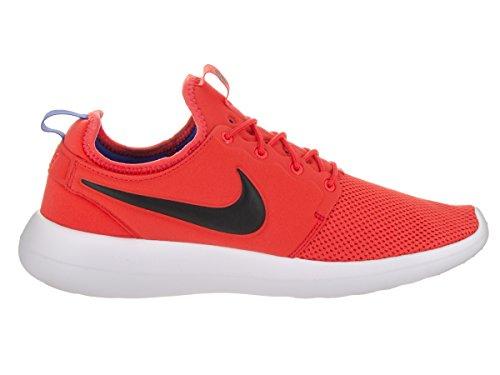 Nike Roshe Two, Chaussures de Running Homme Orange (Max Orange/Black-Deep night-white)