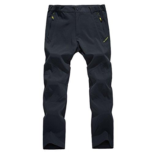 LUI SUI Pantaloni da Lavoro da Uomo con Pantaloni Cargo Pantaloni da Campeggio da Montagna Antivento Active Quick Dry Active da Trekking
