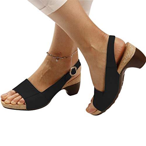 Tango Latin Jazz Schuhe Damen Dot Schuhe Modern Dance Schuhe Ballroom Dance Schuhe Damen Schuhe Professional Cross Belt Latin Salsa Tango Ballsaal Modern Hohl Dance Schuhe (42, Schwarz) -
